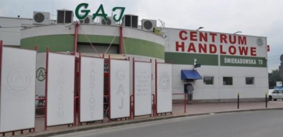 Historia Centrum Handlowego Gaj