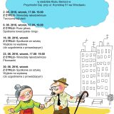Plan spotkań Klubu Seniora na sierpień