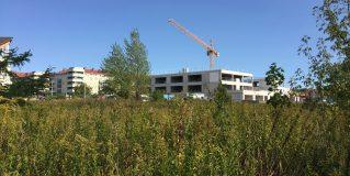 Z wizytą na placu budowy nowej szkoły na Gaju