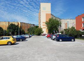 Jest już nowy parking na Orzechowej