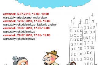 Plan spotkań Klubu Seniora na lipiec