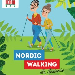 Spacer nordic walking po osiedlu!