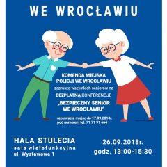 Bezpieczny senior we Wrocławiu