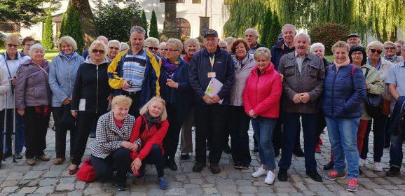 Seniorzy z Gaju zwiedzają Dolny Śląsk