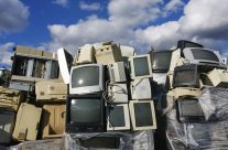 Zbiórka elektrośmieci na Gaju