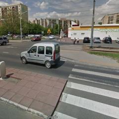 Budowa bezpiecznego przejścia pod CH Gaj na Świeradowskiej