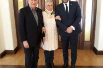 Jubileusz radnego i spotkanie u Prezydenta Wrocławia